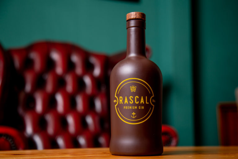 Rascal Gin Bottle design