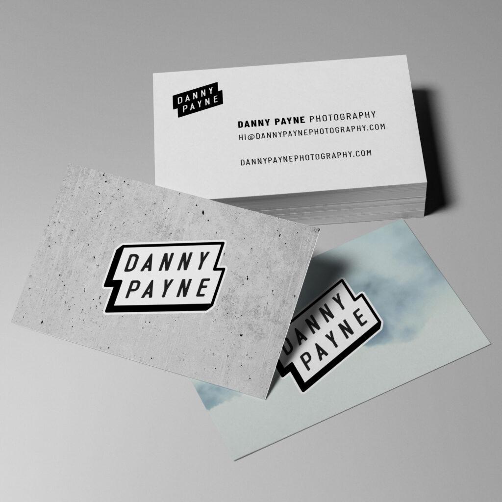 Danny Payne Photography Logo design mockup