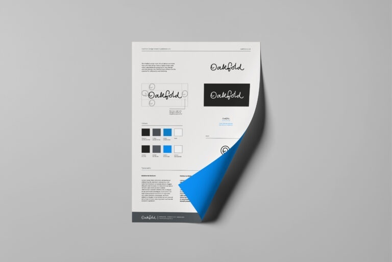 oakfold brand guidelines head